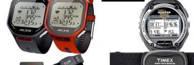 ¿Cuál es el mejor pulsómetro para triatlón? Comparamos el Polar RCX5 y el Timex Ironman Global Trainer GPS