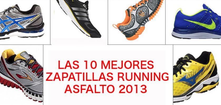 Las 10 mejores zapatillas de running para asfalto de este