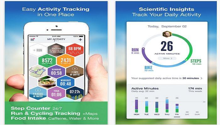 Mejor app fitness iphone gratis
