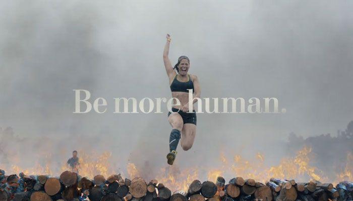 Reebok Be More Human fitness