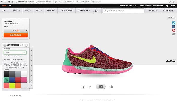 personalizar zapatillas nike tienda online - Santillana ... cfc9b4a7109