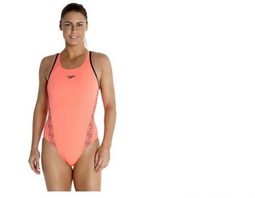 Bañador de natación para mujer Speedo Monogram