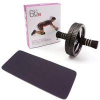 Ejercicios con AB Roller para trabajar y fortalecer tus abdominales en casa