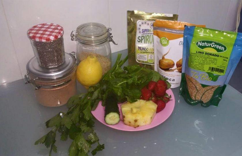 Batido verde: «Mens sana in corpore sano»...¡A tope de «Power»!