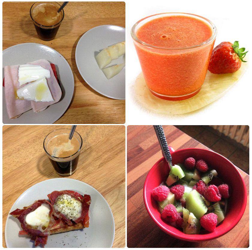 Desayuno sano e ideal: Lo pequeño nos hace grandes