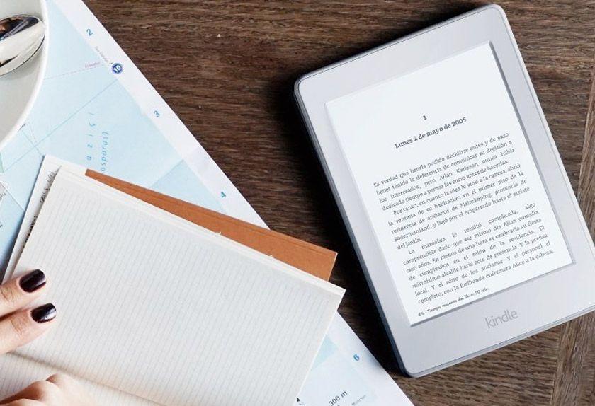 Black Friday Primeras marcas: 15 chollos que no debes dejar escapar - E-reader Kindle Paperwhite