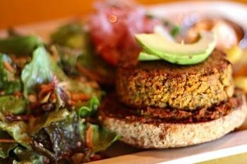 hamburguesa de Lentejas de Quinoa