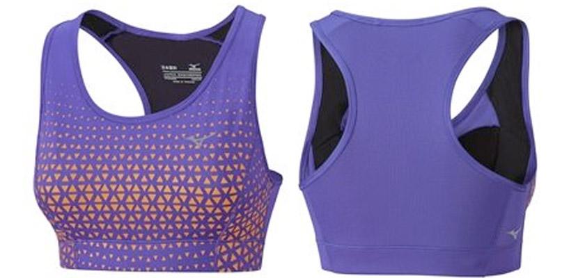 Colección de running y training de Mizuno para mujer - Phenix Support Bra