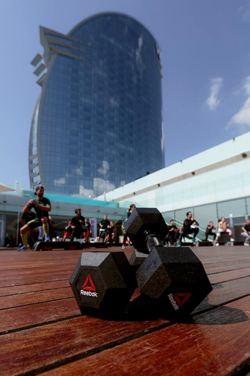 Reebok Trainings Barcelona 2017 - foto 1