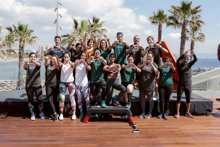 Reebok Trainings Barcelona 2017 - foto 3