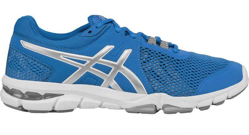 Detalles de Asics Hombre Fuzetora Entrenar Gimnasio Zapatos Azul Deporte Transpirable