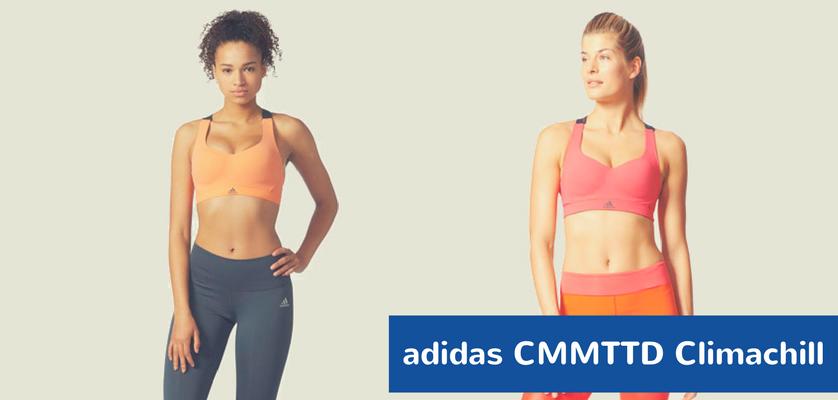 Los 5 mejores sujetadores deportivos con relleno - Adidas CMMTTD Chill