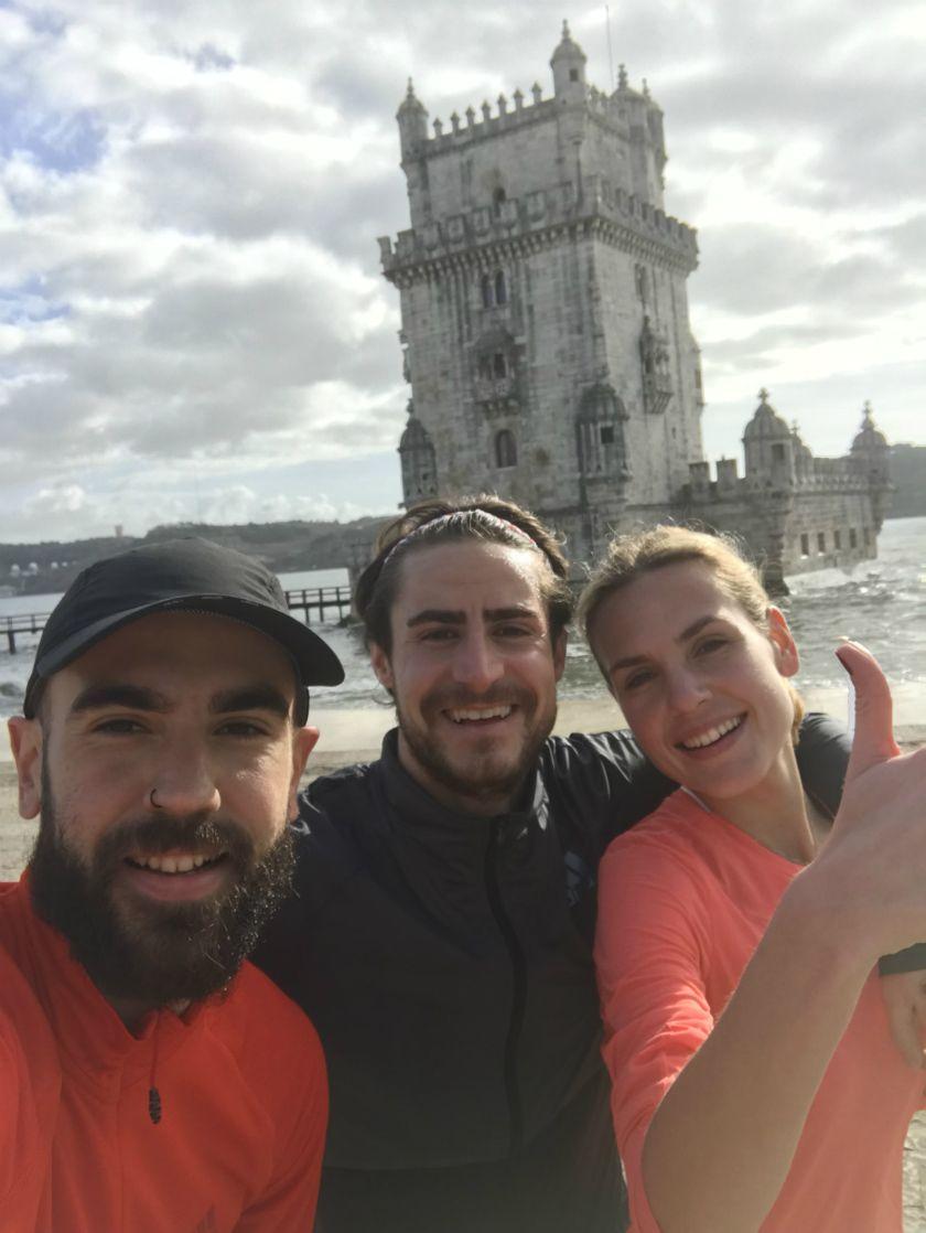 experiencia de correr por Lisboa