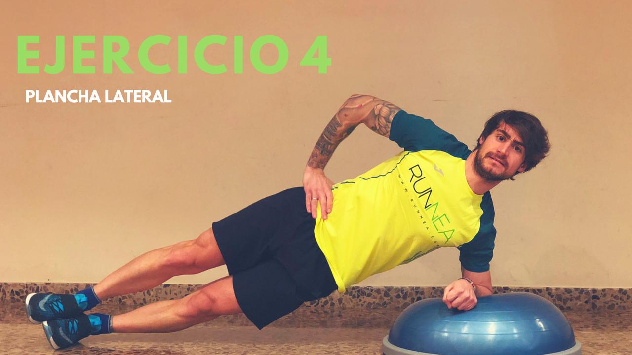 6 mejores ejercicios abdominales con bosu