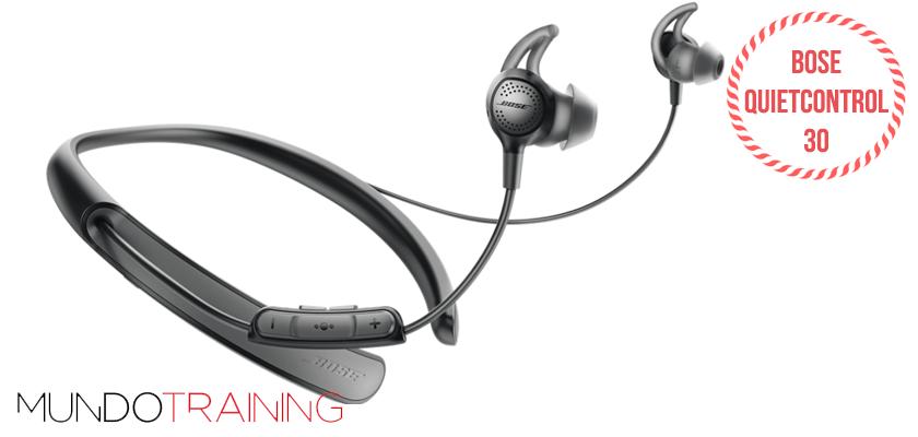 Los mejores auriculares inalámbricos para correr 2018 - Bose Quietcontrol 30