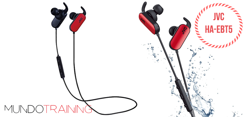Los mejores auriculares inalámbricos para correr 2018 - JVC HA-EBT5