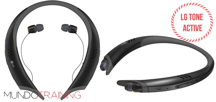Los mejores auriculares inalámbricos para correr 2018 - LG Tone Active+HBS A100