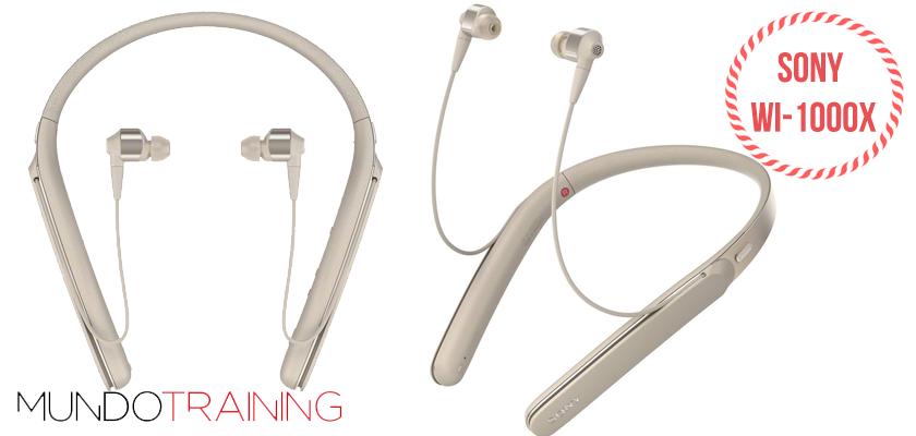 Los mejores auriculares inalámbricos para correr 2018 - Sony WI-1000X