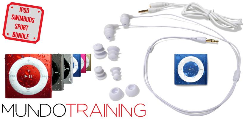 Los mejores mp3 para natación 2018 - Underwater Audio iPod Shuffle