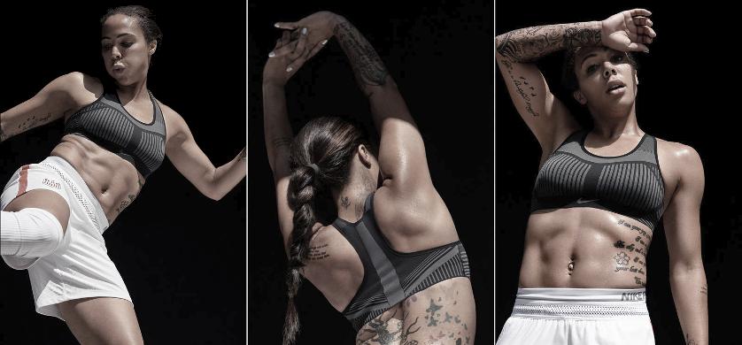 Homenaje de Nike Tranning al bra, exclusivo Nike Fe/Nom Flyknit - foto 2
