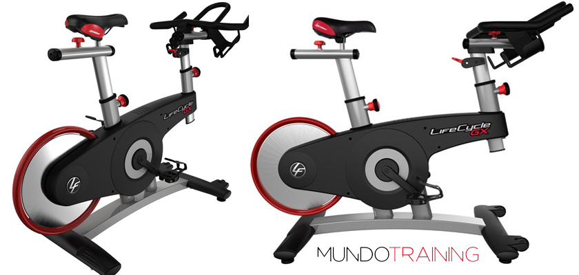 Las mejores bicicletas de spinning 2018 - Life Fitness LifeCycle GX