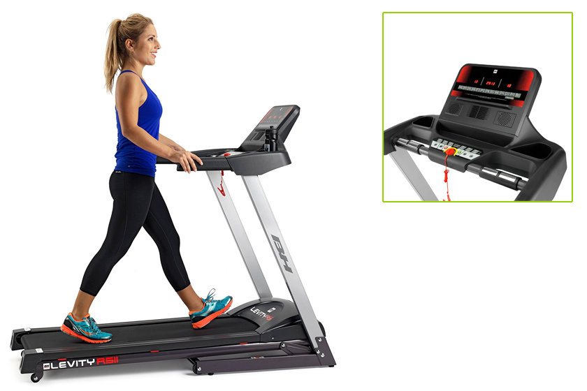 Cinta de correr BH Fitness Levity RS2, características