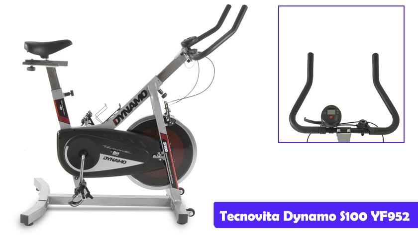 Características más destacadas de la bicicleta de spinning Tecnovita Dynamo S100 YF952