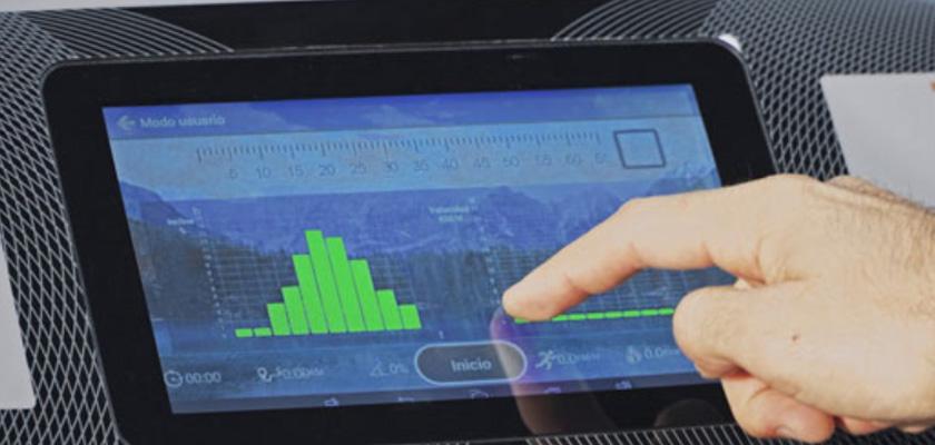 BH RC05 TFT: monitor táctil