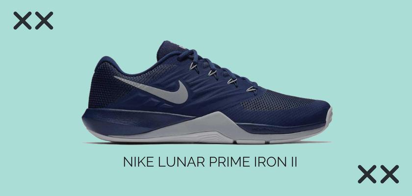 10 zapatillas de crossfit y fitness más vendidas del mes de julio, Nike Lunar Prime Iron II