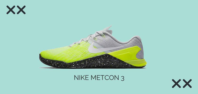 10 zapatillas de crossfit y fitness más vendidas del mes de julio, Nike Metcon 3