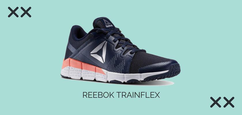 10 zapatillas de crossfit y fitness más vendidas del mes de julio, Características Reebok Speed TR  Reebok Trainflex
