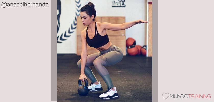 Las instagramers fitness/training con más tirón en España, Anabel Hernández