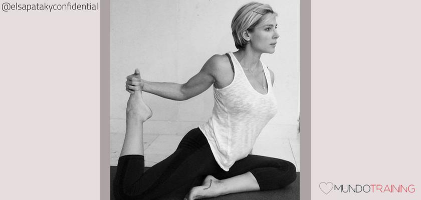 Las instagramers fitness/training con más tirón en España, Elsa Pataky