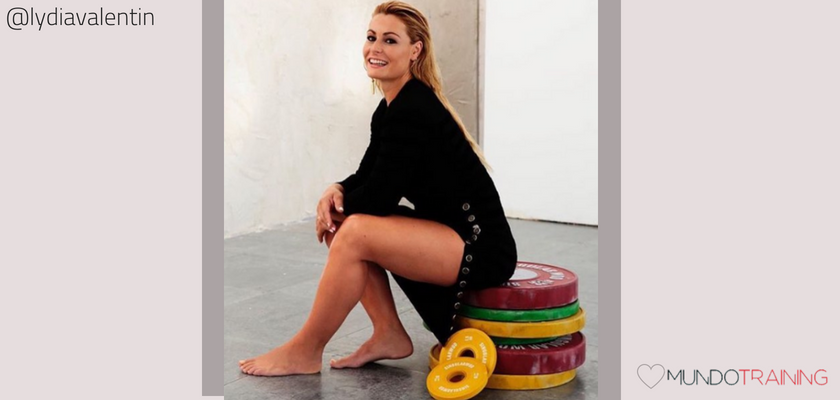 Las instagramers fitness/training con más tirón en España, Lydia Valentín