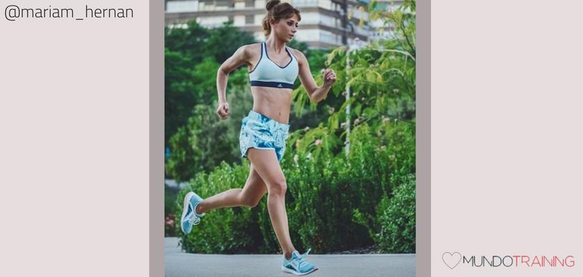 Las instagramers fitness/training con más tirón en España, Mariam Hernández