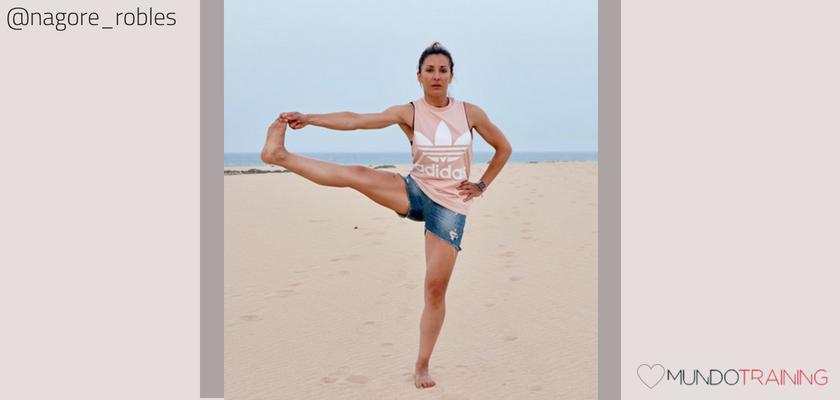 Las instagramers fitness/training con más tirón en España, Nagore Robles
