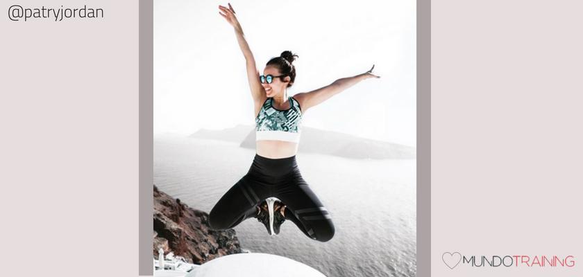Las instagramers fitness/training con más tirón en España, Patry Jordán