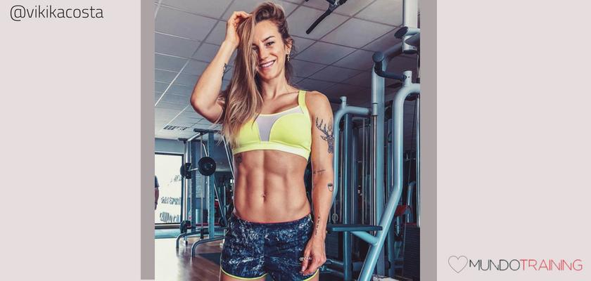 Las instagramers fitness/training con más tirón en España, Verónica Costa