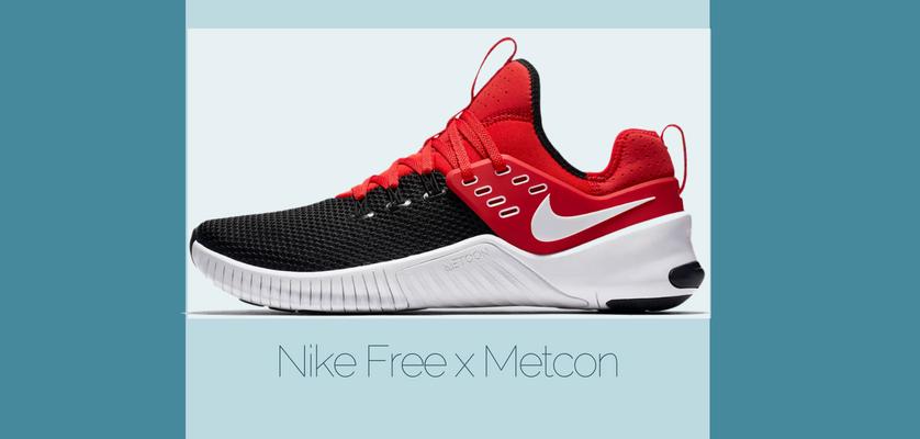 Las 10 mejores zapatillas de cross-training de Nike, Nike Free x Metcon
