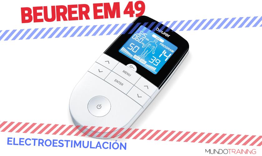 ¿Qué electroestimulador me compro? - Beurer EM 49