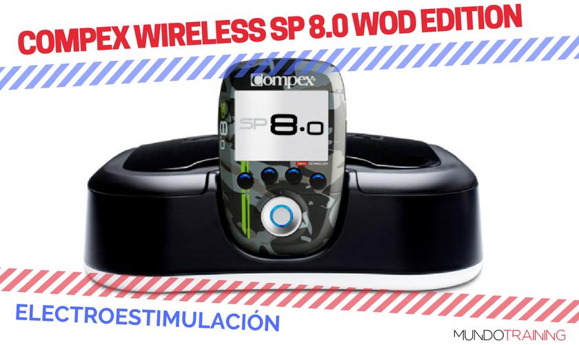 ¿Qué electroestimulador me compro? - Compex Wireless SP 8.0 WOD Edition