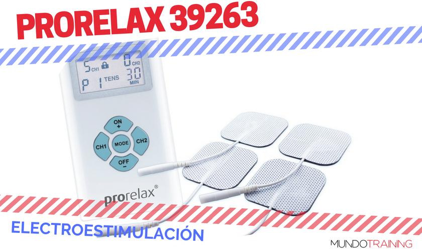 ¿Qué electroestimulador me compro? - Prorelax 39263