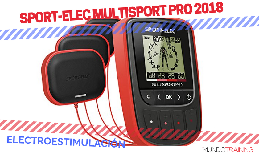 ¿Qué electroestimulador me compro? - Sport-Elec Multisport Pro 2018