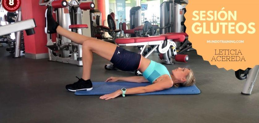 ejercicios para gluteos gym mujeres