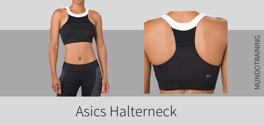 10 sujetadores deportivos que no te fallarán en el gym este Otoño/Invierno, Asics Halterneck