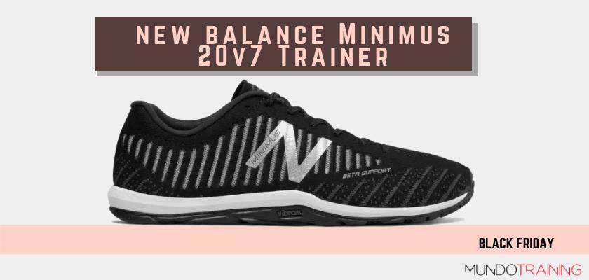 Black Friday zapatillas crossfit 2018: las mejores ofertas en modelos de entrenamiento, New Balance Minimus 20 v7