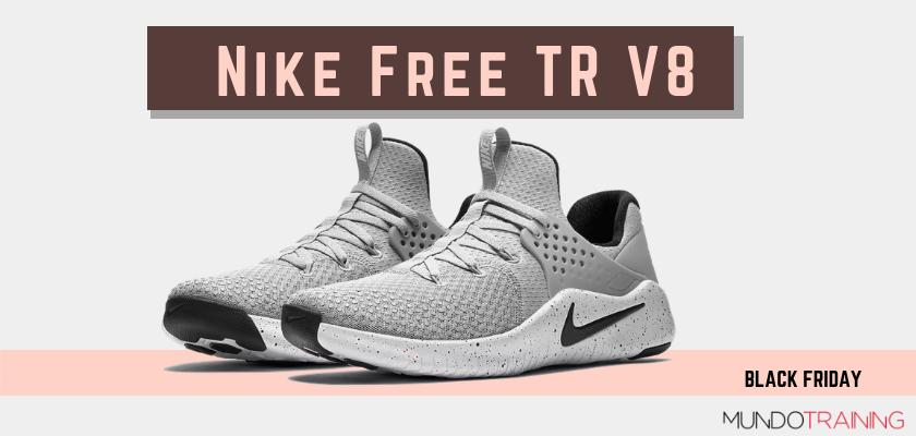Black Friday zapatillas crossfit 2018: las mejores ofertas en modelos de entrenamiento, Nike Free TR V8