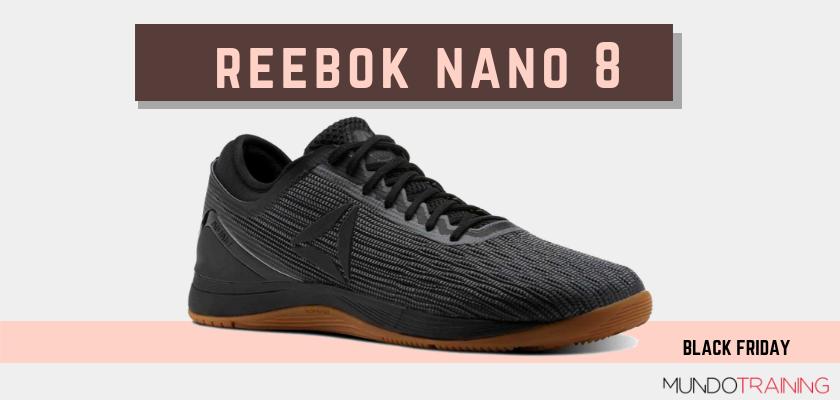 Black Friday zapatillas crossfit 2018: las mejores ofertas en modelos de entrenamiento, Reebok Nano 8
