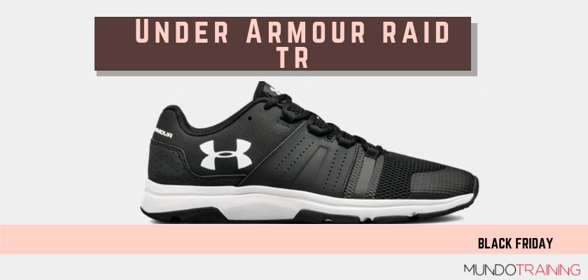 Black Friday zapatillas crossfit 2018: las mejores ofertas en modelos de entrenamiento, Under Armour Raid TR