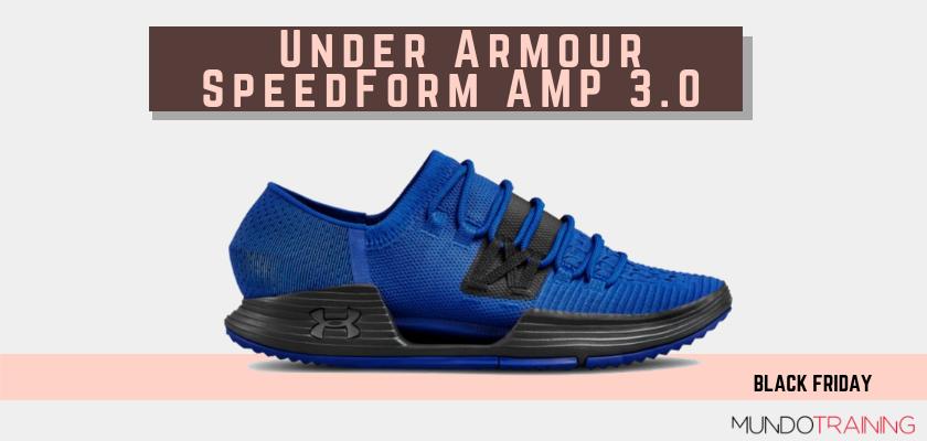 Black Friday zapatillas crossfit 2018: las mejores ofertas en modelos de entrenamiento, Under Armour SpeedForm AMP 3.0